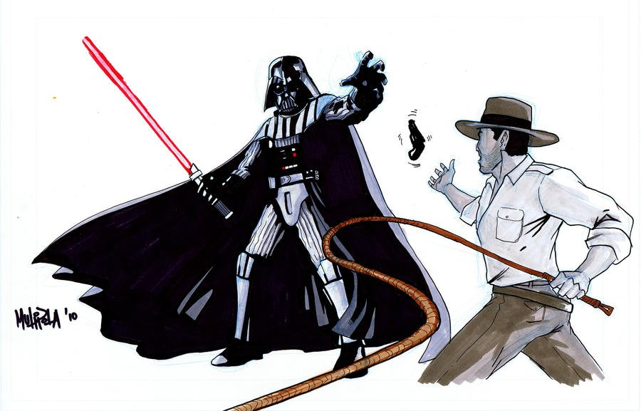Darth_Vader_vs_Indiana_Jones_by_Kid_Lige