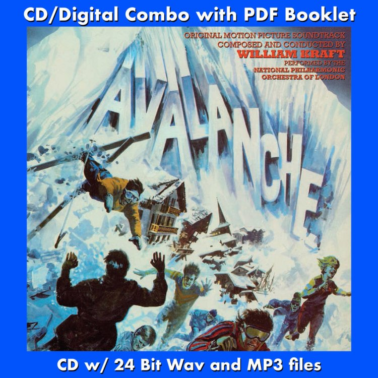 AVALANCHE - Original Soundtrack by William Kraft (CD comes with ...