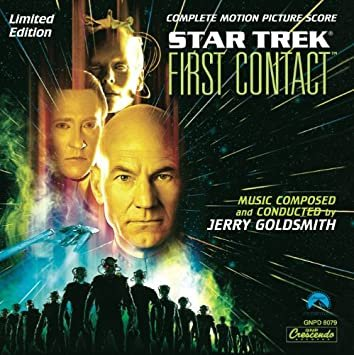 Star Trek 8 - First Contact (Limited Edition) - Jerry Goldsmith ...