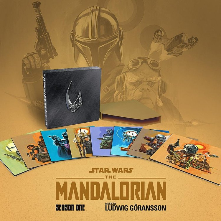 Ludwig Göransson's 'The Mandalorian' score getting eight-LP vinyl box set