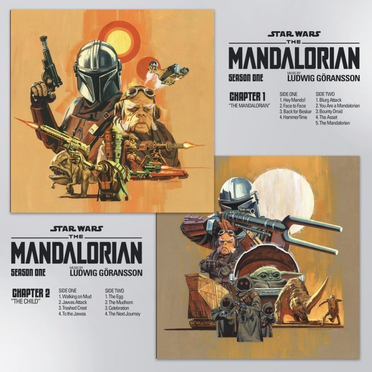 Star Wars The Mandalorian: Fette 8-LP-Vinylbox zum Soundtrack von Staffel 1  - Dazu das klasse Artwork von Paul Mann - seriesly AWESOME